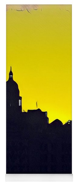 Austin Capital At Sunrise Yoga Mat