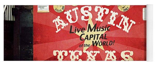Austin Live Music Yoga Mat