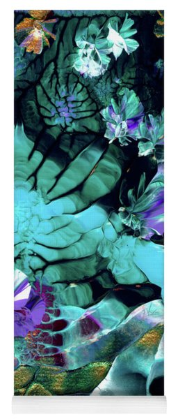 Australian Emerald Begonias Yoga Mat