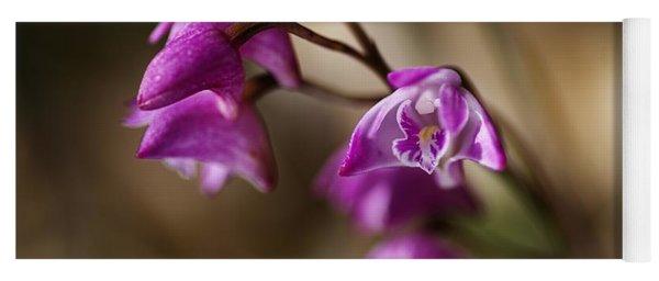 Australia's Native Orchid Small Dendrobium Yoga Mat