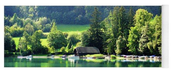 Austrian Lake Yoga Mat