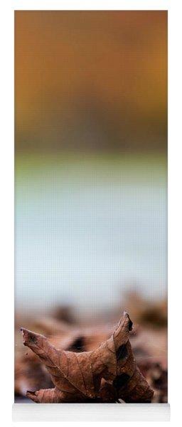 Autumn Abstract Yoga Mat