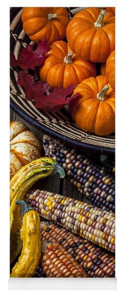 Autumn Abundance Yoga Mat