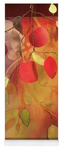 Autumn Apples 3d Yoga Mat