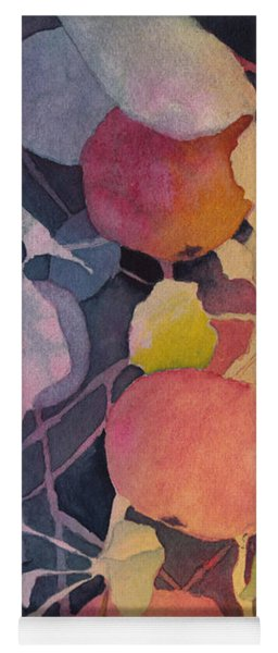 Autumn Apples Yoga Mat