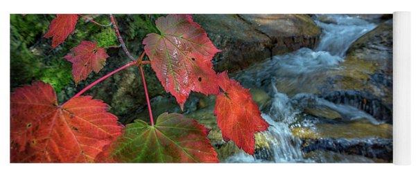 Autumn At Katahdin Stream Yoga Mat