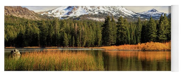 Autumn At Mount Lassen Yoga Mat