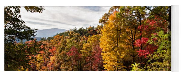Autumn At Roaring Fork Yoga Mat