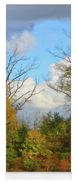 Autumn Breeze Nature Art Yoga Mat