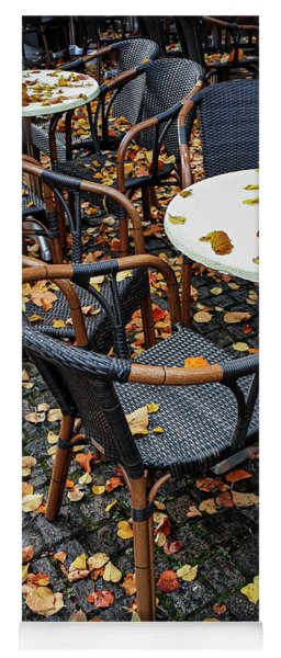 Autumn Cafe Yoga Mat