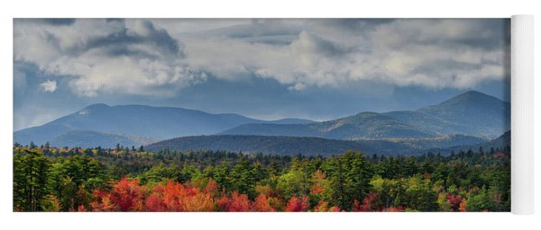 Autumn Chocorua Lake Nh Yoga Mat