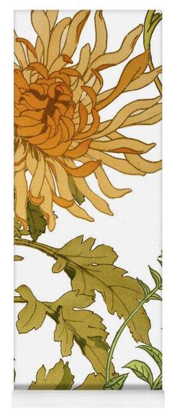 Autumn Chrysanthemums I Yoga Mat