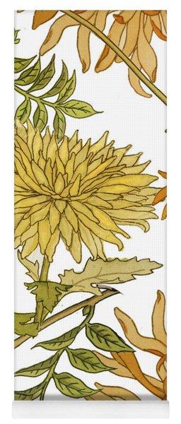 Autumn Chrysanthemums II Yoga Mat