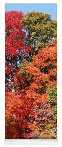 Autumn Color Spray Yoga Mat