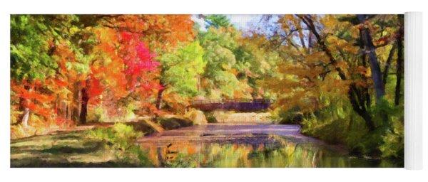 Autumn Delight Yoga Mat