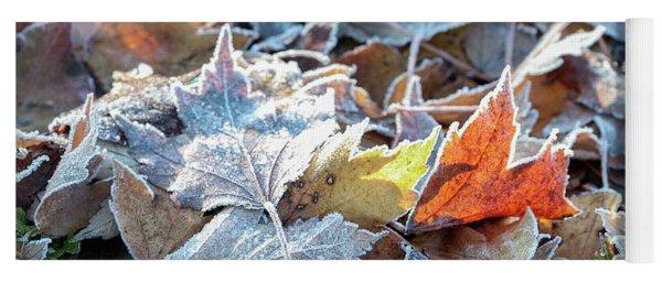 Autumn Ends, Winter Begins 3 Yoga Mat