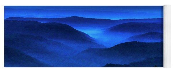 Autumn Equinox Highland Dawn Yoga Mat
