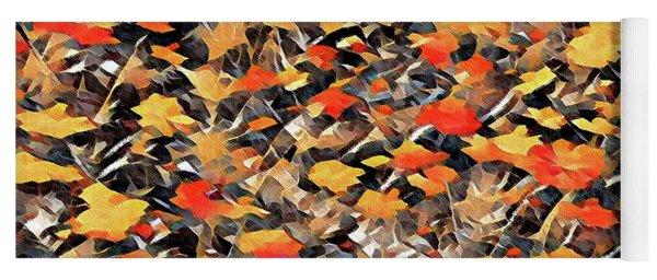 Autumn Fire Yoga Mat