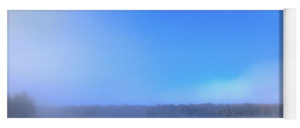 Autumn Fog Over West Lake Yoga Mat