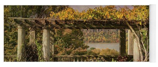 Autumn Gardens With A View Yoga Mat