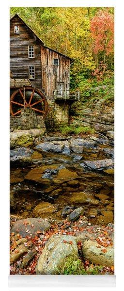Autumn Grist Mill Yoga Mat