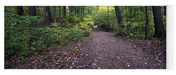Autumn Hiking Yoga Mat