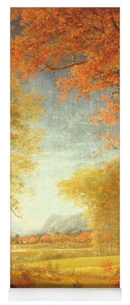 Autumn In America Yoga Mat