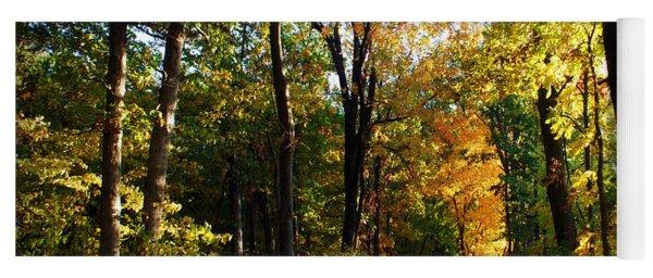 Autumn In Missouri Yoga Mat