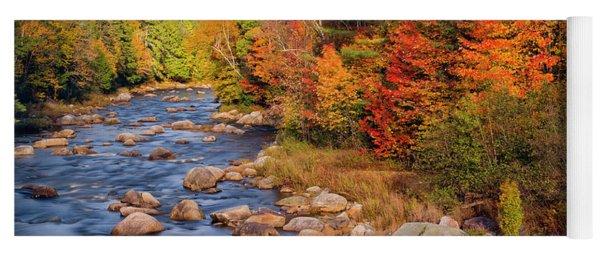 Autumn In New Hampshire Yoga Mat