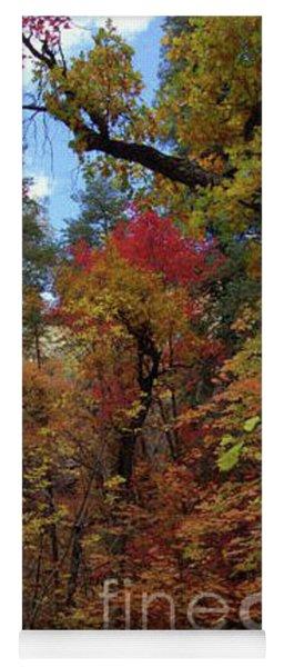 Autumn In Sedona Yoga Mat