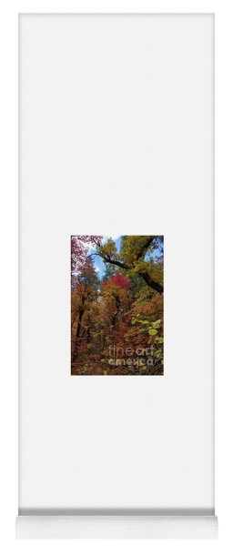 Autumn In Sedona Yoga Mat