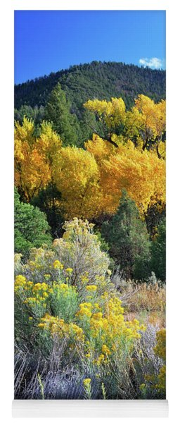 Autumn In The Canyon Yoga Mat