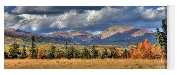 Autumn In The Rockies Yoga Mat
