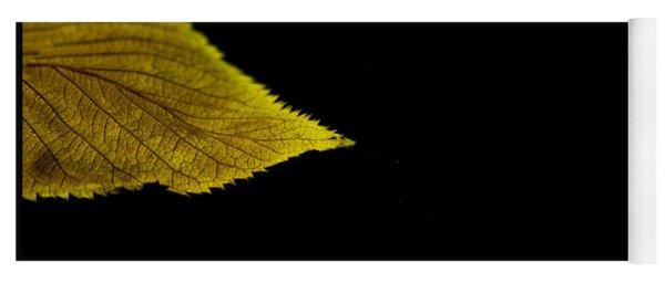 Autumn Leaf Yoga Mat