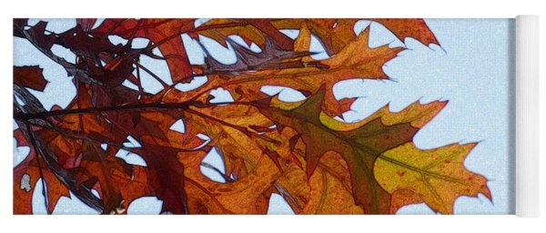 Autumn Leaves 21 Yoga Mat