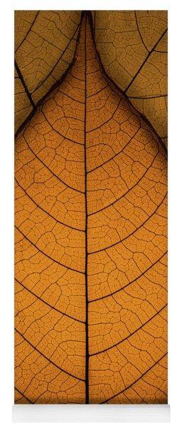 Autumn Leaves Yoga Mat