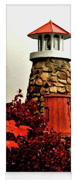 Autumn Lighthouse Yoga Mat