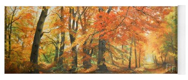 Autumn Mirage Yoga Mat