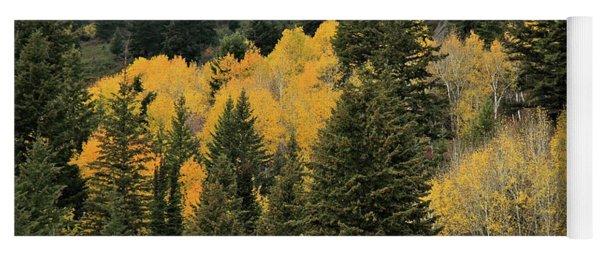 Autumn Mist, Owyhee Mountains Yoga Mat