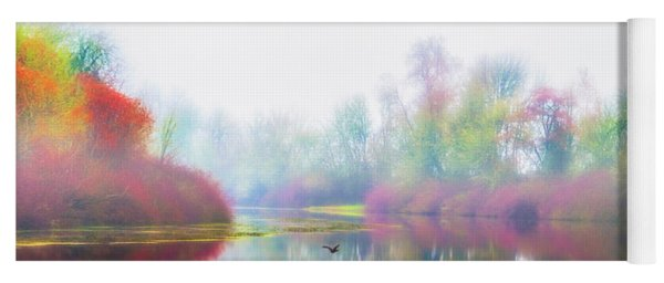 Autumn Morning Dream Yoga Mat