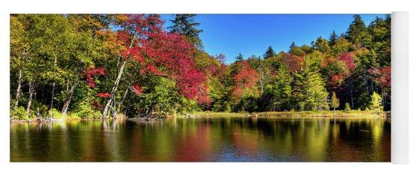 Autumn On 7th Lake Yoga Mat