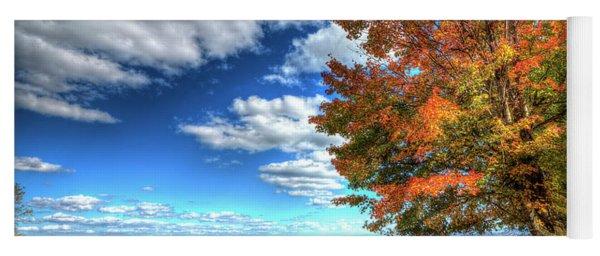 Autumn On The Windfall Yoga Mat