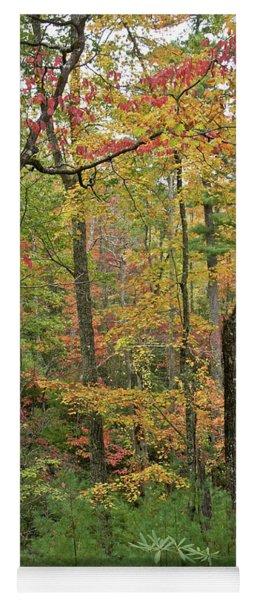 Autumn Palette Yoga Mat