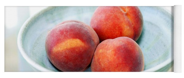 Autumn Peaches Yoga Mat