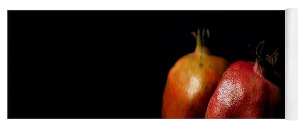 Autumn Pomegranate Yoga Mat