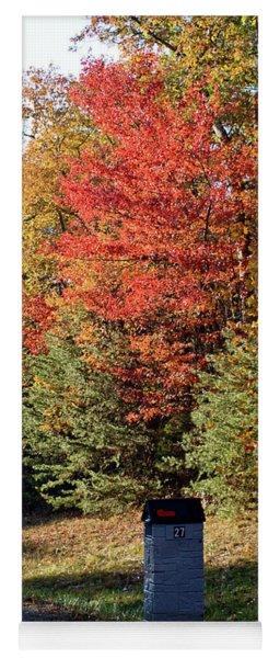 Autumn Post Yoga Mat
