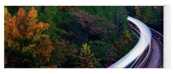 Autumn Rails Yoga Mat