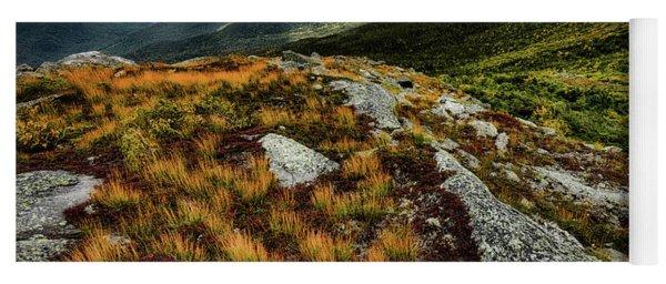 Autumn Rays, Mt Washington Nh Yoga Mat