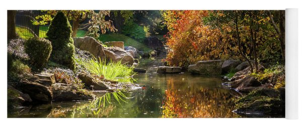 Autumn Reflections Yoga Mat