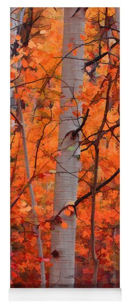 Autumn Splendor Yoga Mat
